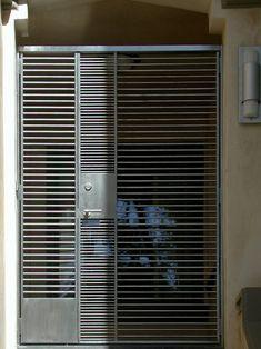 metal gated-door