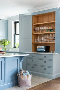 The Wild Wood Kitchen is an example of a handcrafted Shere Kitchen to show the craftmanship of our work and give you ideas for your bespoke kitchen Kitchen Cabinet Makers, Kitchen Storage, Kitchen Cabinets, Little Greene Paint Company, Pantry Cupboard, Handmade Kitchens, Bespoke Kitchens, Family Kitchen, Beautiful Kitchens