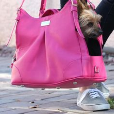 Shop where every purchase helps shelter pets! Doggie Design Pink Yarrow Mia Michele Dog Carry Bag - from $139.99
