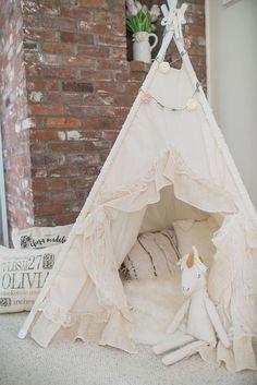 AVA teepee tent play tent kids teepee wigwam by SugarShacksTeepee