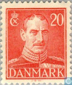 Denmark - King Christian X 1942