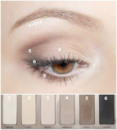 Natural Makeup Look: Eyeshadow | Master The Natural Makeup Look With These Beauty Hacks Natural Eyes, Natural Eye Makeup, Homecoming Makeup, Human Eye, Eyes, Natural Makeup Looks