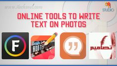 Best Online Smartphone Tools to Write Text on Photos