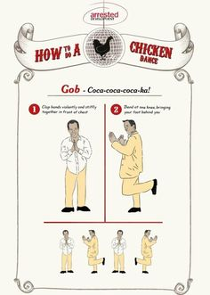 The creator of the Chicken Dance: Gob Bluth