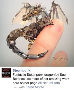 cat art sculpture Cool Awesome steampunk dragon steampunk art steam punk steampunk dragon Steampunk Cat watch parts Sue Beatrice cyberpunk Steampunk Kunst, Style Steampunk, Steampunk Fashion, Gothic Fashion, Steampunk Watch, Gothic Steampunk, Steampunk Clothing, Victorian Gothic, Gothic Lolita