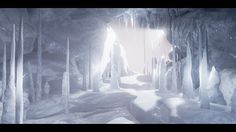ArtStation - Ice Caverns UE4, Morrissey Alexander