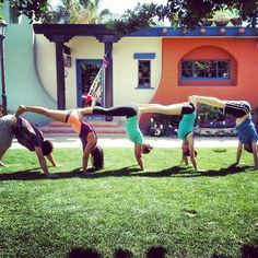 group acro yoga