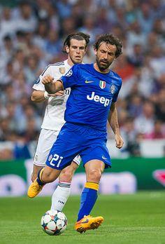 Tampoco Bale pudo con Pirlo: UEFA Champions League.