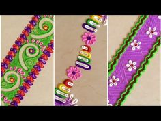 Rangoli Borders, Rangoli Border Designs, Small Rangoli Design, Diwali Rangoli, Flower Rangoli, The Creator, Decoration, Easy, Youtube