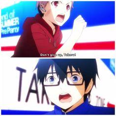 Riku and Takeru as kids... I DON'T NEED FEELS ANYMORE!