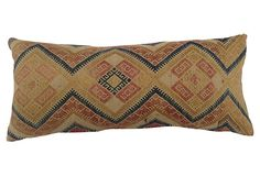 Pillow w/ Antique Hmong Quilt on OneKingsLane.com