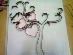 Diy Birthday, Birthday Cards, Alphabet Graffiti, Toilet Roll Art, Origami, Art Quilling, Decoration, Tree Branches, Paper Cutting