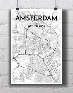 Amsterdam City Map