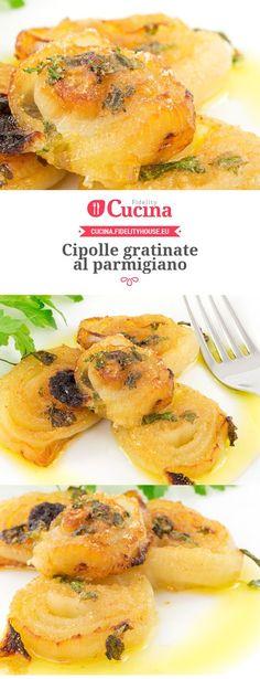 #Cipolle gratinate al parmigiano