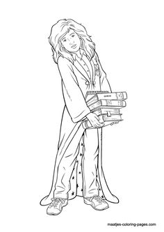 Harry potter Coloring and Coloring pages on Pinterest