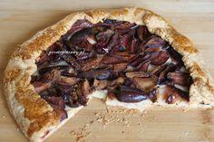 Proste Potrawy: Rustykalna tarta ze śliwkami