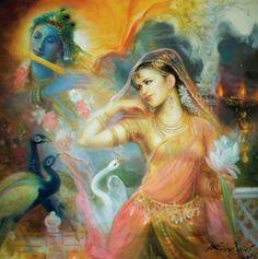 Indian Art Festival - Prithvi Soni-Shringar Radha