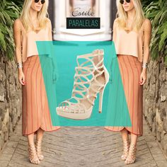 Saia por aí modernizando tudo! Escolha o look e a sandália certa! Arrase de @amoguapa!   // INVISTAM // #vidascomestilo #modaporprecojusto #paralelas   #amosapatos #moda #shoes #love #instagood #fashion #estilo #instamood #instalove #welove #instashoes #trendalert #tendencia #conforto #cool #versatil #sandalia #gladiadora #nude
