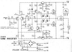 50W Power Amplifier – Mosfet (K1058 + J162) | Tehnik Service