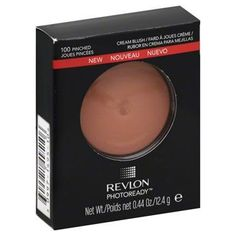 Revlon Photo Ready Cream Blush, 100 Pinched, 0.44 Ounce/(12.4g)