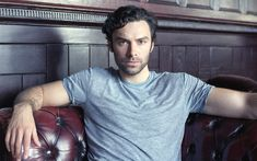 Having won our hearts as the dashing Ross Poldark, Aidan Turner - who stars in   the BBC's upcoming adaptation of Agatha Christie's And Then There Were None   - is turning nasty