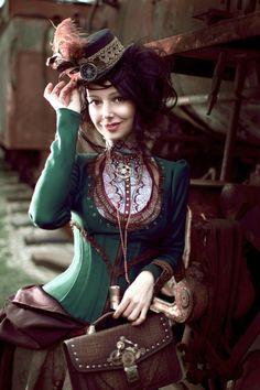 Model & Design: Alice Maximova  Leather accessories Andrew Kanounov … Facebook|Google +|Twitter