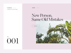 Luminous Magazine by Vedad Siljak #Design Popular #Dribbble #shots