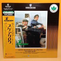 Scarecrow (1973) [NJL-11098] LaserDisc LD Laser Disc NTSC w/OBI Japan EA002