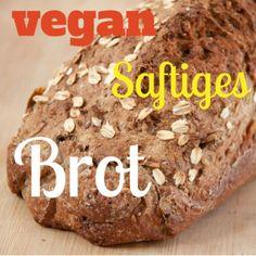 Extrasaftiges Brot - vegan! On top: Balsamico Crema zum selbermachen, auch vegan. Rezepte auf meinesvenja.de