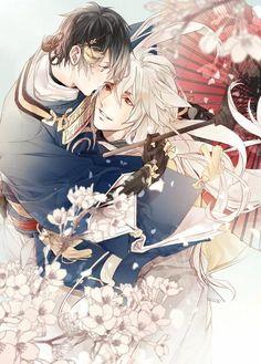 桜雨下の嫁入り小狐三日