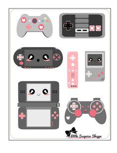 Videogame Nerd-Aufkleber