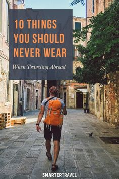 Before you start packing your suitcase, consider these 10 things you may wish to leave in your closet when traveling—especially if you're going overseas. Travel Abroad, Travel Tips, I Love Ny, Packing Tips, Consideration, White Sneakers, Boss Lady, Traveling By Yourself, Suitcase