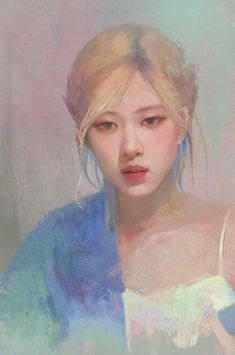 Aesthetic Art, Aesthetic Anime, Foto Rose, Arte Indie, Rose Video, Blackpink Poster, Kpop Drawings, Applis Photo, Love Is Gone