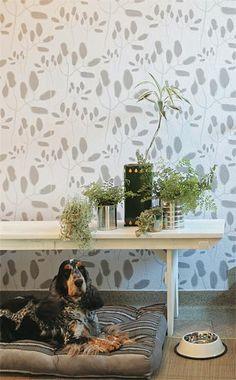 papel de parede, Bobinex, por M. Rosenbaum (+ cachorro fofo)