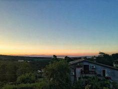 Morning star won't you carry me home? #morning #morningsky #sunset #sunrise #horizon #lazio #latium #rome