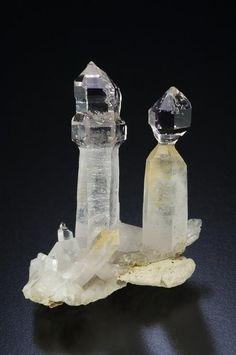 Quartz scepter crystals