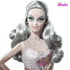 Barbie: growing old ala Real Housewives style.