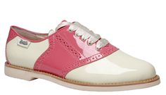RACHEL ANTONOFF FOR BASS. I had pink saddle shoes when I was a little girl...I used to stare at them on my feet all the time. And so it began...