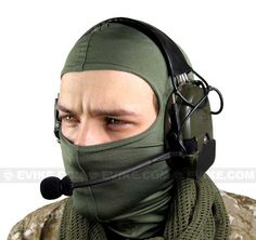 Matrix / Element Military Grade Tactical Communications Headset (Type B), Tactical Gear/Apparel, Communication - Evike.com Airsoft Superstore