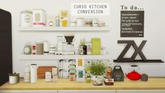 Mio sims: CURIO KITCHEN CONVERSION