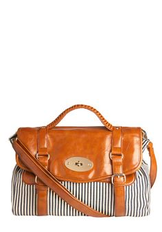 Ok--this purse is EVERYWHERE. Its super cute... {Reach New Levels Satchel from ModCloth}