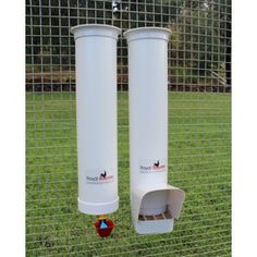 Drinker & Feeder Set - with Rain Cover