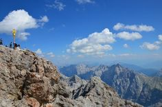 Zugspitze, highest point in Germany