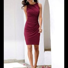 Boston Proper - I have this! Great fitting comfy dress!