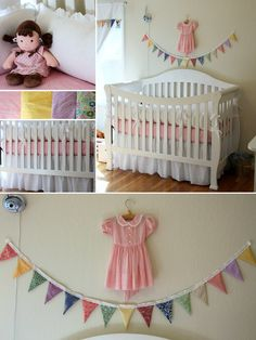 Vintage Nursery for Little Girl
