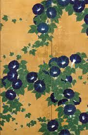 Suzuki Kiitsu, trained as a textile dyer, studied painting under Sakai Hoitsu (1761–1828)