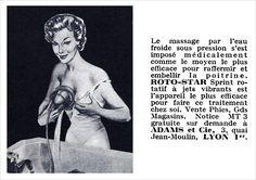 Skurriles Netzfundstück: Es gab mal eine Zeit, das hätten Massagen mit kaltem Wasser zur Brustvergrößerung einen Hype auslösen sollen. Taten sie dann aber doch nicht. Retrocharme und Vintage-Feeling.  https://goo.gl/9YLXX7