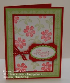 Happy Blooms by stampinshauna - Cards and Paper Crafts at Splitcoaststampers