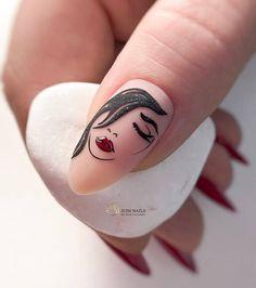 Nail Art Designs Videos, Nail Art Videos, Cartoon Nail Designs, Manicure Nail Designs, Manicure E Pedicure, Acrylic Nail Art, Acrylic Nail Designs, Stylish Nails, Trendy Nails