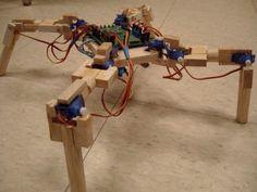 Build a Robot! Arduino-Based Four-Legged Robot Your Can Make Yourself.